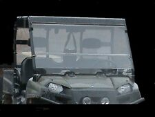 "2016 Polaris Ranger 570 Full Size Tinted Folding Windshield. A Full 1/4"" THICK!"
