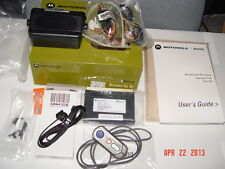 Motorola Bluetooth  Hands Free  Car-Kit BTHCK100 SYN8883C with SMN4103B MIC NEW