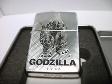 RARE SPECIAL Zippo Windproof Collectible Lighter GODZILLA 2-Sided 1993 NEW