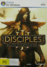 DISCIPLES 3: GOLD EDITION  -  PC GAME *** Brand New & Sealed ***