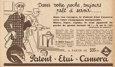Y8912 Patent Etui Camera - Beney Frères - Pubblicità d'epoca - 1932 Old advert