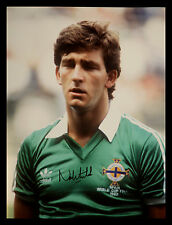 *New* Norman Whiteside Signed 12x16 Northern Ireland Football Photograph