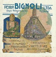 A.Marchisio-BIGNOLI-B Aires-buddah-giocattoli-casalinghi-oggetti d'arte-MILANO