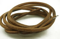 "72"" (183cm) COWHIDE LEATHER BELT For SINGER TREADLE SEWING MACHINE - (5.6mm)"