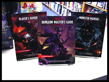 Dungeons and Dragons 5th Edition 3-Book Set Handbook DM Guide Monster Manual