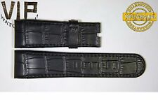 NEW OEM Authentic Corum strap 24 mm genuine leather black