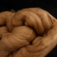 BABY CAMEL 100% combed Top roving GOLDEN BROWN 16-17 micron spin yarn 28 grams