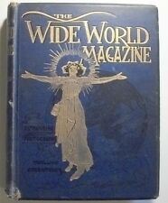 Bound volume of The Wide World Magazine, April-September 1902.  A.Conan Doyle