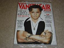 JOHNNY DEPP * COURTNEY LOVE November 2011 VANITY FAIR MAGAZINE NEW