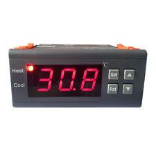 10A Digital Thermostat Temperature Controller w Sensor -40°C ~ 120°C MH1210A