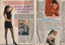 Coupure de presse Clipping 1991 Shannen Doherty (2 pages)