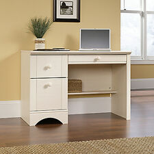 Computer Desk - Antiqued White - Harbor View Collection (401685)