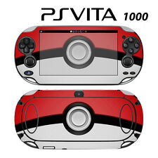 Vinyl Decal Skin Sticker for Sony PS Vita PSV 1000 Pokeball