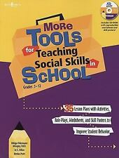 More Tools for Teaching Social Skills in School by Midge Odermann Mougey,...
