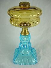 VINTAGE  ADAMS  MOON  AND  STAR  OIL  LAMP  BASE   ( BEAUTIFUL )