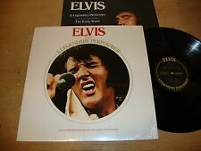 Elvis Presley - A Legendary Performer Volume 1 - LP Record   EX NM
