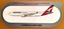 QANTAS, Airbus A330-200, Original, High Quality Print, new, HIGHLY RARE !!!