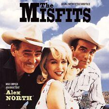 LES DESAXES (THE MISFITS) - MUSIQUE DE FILM - ALEX NORTH (CD)
