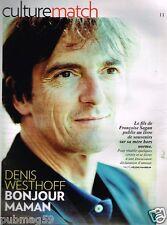 Coupure de Presse Clipping 2012 (3 pages) Denis Westhoff