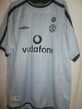 Manchester United 2001-2002 Goalkeeper Football Shirt Large /6815