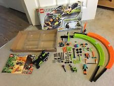 *V RARE* Lego Technic Set 8307 - Turbo Racer (WORKING MOTOR) Boxed + Inst