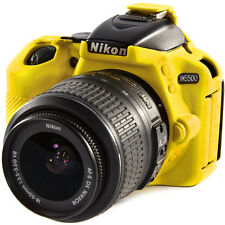 easyCover Nikon D5500 Silicone Camera Case Yellow EA-ECND5500Y FREE US SHIPPING