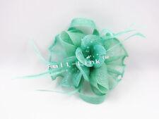 Feather Flower Headband Fascinator Weddings Ladies Day Race Royal Ascot SF7079