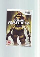 TOMB RAIDER UNDERWORLD - LARA CROFT Wii GAME / Wii U - FAST POST - COMPLETE