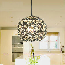 Crystal Flower Ceiling light Pendant Lamp Fixture Lighting  Bedroom Chandelier