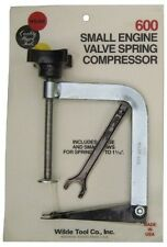 Wilde Tool #600 Professional Small Engine Valve Spring Compressor - MADE IN USA