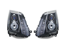 DEPO 2008-2012 Cadillac CTS BLACK / CLEAR Corner PROJECTOR Headlights - HALOGEN