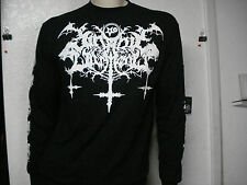 SATANIC WARMASTER.NEW.LRG. LONG SLEEVE SHIRT.BLACK METAL.NARGAROTH