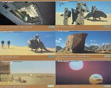 STAR WARS TRILOGY SPECIAL EDITION 1997 TOPPS WIDEVISION BASE CARD SET OF 72