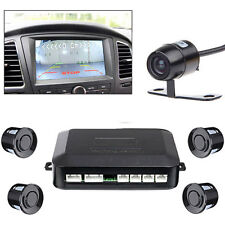 Waterproof Car Rear View Reverse Backup Camera 4 Parking Sensor for DVD Monitor