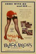 Spiked Heels And Black Nylons Poster 01 A4 10x8 Photo Print
