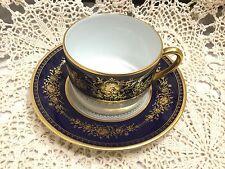 Faberge Fleurs Imperiales Tea Cup & Saucer Bernardaud-Franklin Mint.      *2533