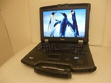 Dell XFR E6400 Ballistic Armor Laptop 2.53Ghz 320GB 4GB Win7 WiFi - Good Condion