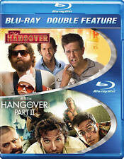 Hangover/Hangover Part II (Blu-ray Disc, 2014, 2-Disc Set) BRAND NEW