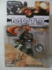 2005 HOT WHEELS MOTO #3x JEFF WARD TROY LEE FBC HONDA CRF450 SUPERMOTO