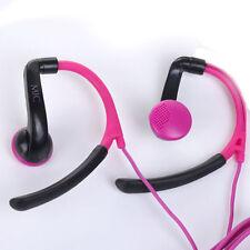 Sport Earphones Over ear Headphones For Jogging Gym Running CellPhones iPod MP3