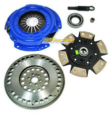 FX STAGE 3 CLUTCH KIT+ CHROMOLY FLYWHEEL fits 1991-1998 NISSAN 240SX 2.4L KA24DE