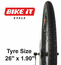 "PRO-AIR TOURING CYCLE TYRE 26"" x 1.90 HYBRID COMMUTE STREET MOUNTAIN MTB BIKE"