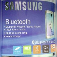 Samsung Bluetooth Headset Handsfree Stereo Headset for SAMSUNG + all Smartphones
