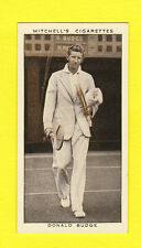 TENNIS - STEPHEN MITCHELL & SON - A GALLERY OF 1935 -  DONALD  BUDGE  - 1936