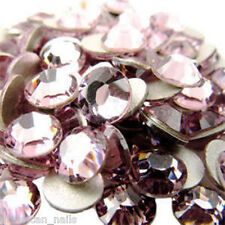 20 STRASS Cristal SWAROVSKI Light Amethyst Bijoux d'ongles 1,8 mm Nail Art