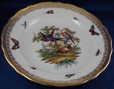 Fun Richard Klemm Dresden Porcelain Birds of Paradise Plate Porzellan Teller
