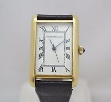 RARE VINTAGE JAEGER LE COULTRE 18k Gold Men's Watch