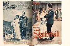 IFB Nr.3465 Filmbühne Programm Kaiserball 1950er mit Sonja Ziemann R. Prack