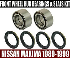 Fits:Nissan Maxima Front Wheel Hub Bearings & Seals Set Left & Right