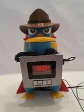 Phineas and Ferb Disney Perry the Platypus Alarm Clock